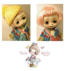 Tutu Pink Wig, Bjd, Tutu, Wigs, Crochet Hats, Dolls, Fashion, Knitting Hats, Baby Dolls