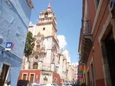 Templo de la Compañía en Guanajuato