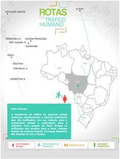 """A Campanha da Fraternidade 2014 traz como tema """"Fraternidade e Tráfico de pessoas"""". O Ministério da Justiça, preocupado desde 2004 com políticas de prevenção ao tráfico de pessoas, apresentou em outubro de 2012 a pesquisa inédita """"Diagnóstico Sobre Tráfico de Pessoas nas Áreas de Fronteira no Brasil"""". Visite o site e passe o mouse sobre cada estado para conhecer as principais rotas de tráfico humano no país:"""