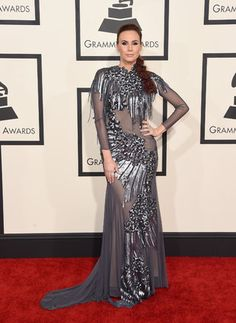 57th GRAMMY Awards - Arrivals LOS ANGELES, CA - FEBRUARY 08: Dancer Keltie Knight attends The 57th Annual GRAMMY Awards at the STAPLES Center on February 8, 2015 in Los Angeles, California. (Photo by Jason Merritt/Getty Images)