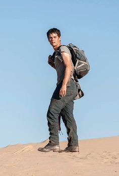 Dylan O'Brien Dumpster Fire — dylanobrien: Thomas - The Scorch Trials (2015) ...