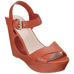 love the cut-out under the sole. Women's Mossimo Black® Phyla Wedge - Assorted Colors.Opens in a new window