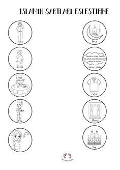 Preschool Worksheets, Kindergarten Activities, Activities For Kids, Islam For Kids, Islamic Quotes Wallpaper, Allah Islam, Learning Letters, Islamic Art, Birthday Cards