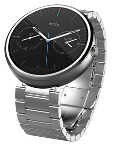 Smartwatch Motorola Moto 360 con correa metálica a precio mínimo histórico  de 163 euros. 5a13685ebbb0
