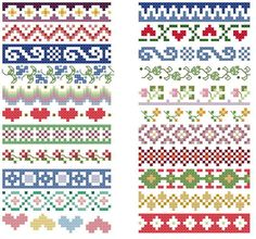 Thrilling Designing Your Own Cross Stitch Embroidery Patterns Ideas. Exhilarating Designing Your Own Cross Stitch Embroidery Patterns Ideas. Cross Stitch Boarders, Cross Stitch Flowers, Cross Stitch Designs, Cross Stitching, Cross Stitch Embroidery, Cross Stitch Patterns, Loom Patterns, Beading Patterns, Embroidery Patterns
