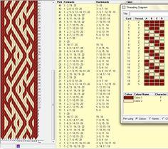 Diagonal - 20 tarjetas, 2 colores, repite dibujo cada 22 movimientos