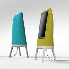 Designer Robert Bronwasser of Smool began to think outside the box (pun intended) with his new concept Homedia, which turns your television into a piece of home decor.