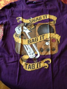 Warehouse 13... Omg I totally need this!  I will hang it next to my Nerd Herd shirt