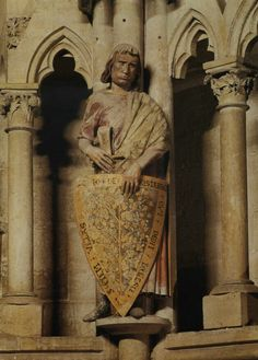 Naumburg Cathedral founder's statue. 13th century.