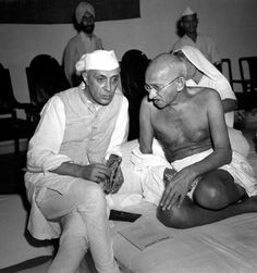 Gandhi his advocation of non violence doesn t mean gandhi wasn t