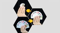 Card Tricks, Magic Tricks, Visual Effects, The Magicians, Playing Cards, Mini, Playing Card Games, Game Cards, Special Effects