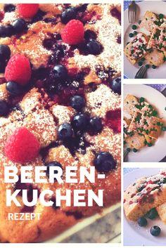 30 Minuten Rezept für einen schellen Beerenkuchen vom Blech