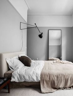 Warm home in grey - via Coco Lapine Design blog