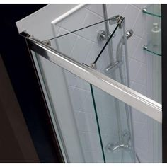 This smart kit from DreamLine offers the perfect solution for a small bathroom renovation with a BUTTERFLY bi-fold shower door, universal shower backwall panels and a coordinating SlimLine shower base