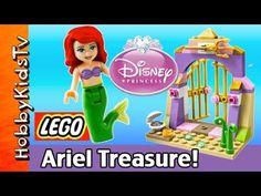 LEGO Disney Princess Ariel's Treasures, Flounder [Box Open] [Little Mermaid]. HobbyKidsTV opens, builds and reviews the Lego Ariel Treasure Kit with Flounder! HobbyMom puts this set together. Minifig Ariel Minifig Flounder. Check out the LEGO Ariel play with SpongeBob and Flounder! Even Olaf and Disney Queen Elsa show up for some fun. #hobbykidstvLEGOS   #hobbykidstvTOYS #hobbykidstvDISNEY #hobbykidstvGIRLS #hobbykidstvMOM This video created by: http://www.HobbyKidsTV.com