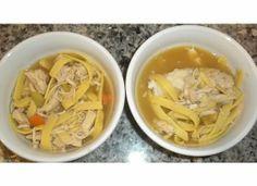 Jeni's homemade chicken noodle soup