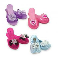 Melissa & Doug Role Play Collection, Step In Style! (Dress-Up Shoes, Pretend Play, Set of 4 Pairs, Great Gift for Girls and Boys - Best for and 5 Year Olds) Dress Up Shoes, Play Shoes, Rocker Girl, Fun Games For Kids, Melissa & Doug, Game Sales, Twin Girls, Outdoor Toys, Exercise For Kids