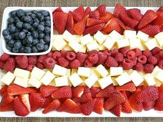 Recipes: American Flag Themed Foods - Great Ideas : People.com