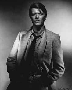 """19 Likes, 1 Comments - David Bowie News (@davidbowienews) on Instagram: """"David Bowie by George Hurrell (1978)"""""""