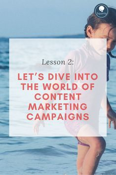 Lesson 2: Let's Dive into the World of Content Marketing Campaigns