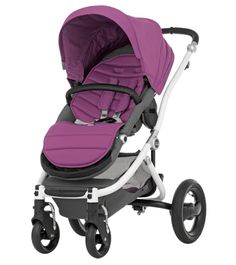 PURCHASED: in black (not purple) BRITAX affinity (to go with the carseat). Can be found here http://www.pinkorblue.dk/Barnevogne/Barnevogne/BRITAX-affinity-Base-Model-Black-Kollektion-2014.html