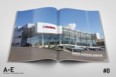 A+E #Architecture et #Environnement au #Maroc #Magazine @Honda #showroom