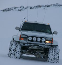 Chevy for the snow. Love those tires!