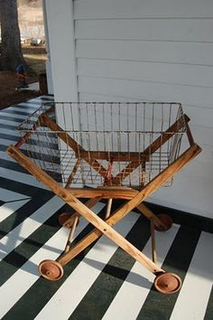 wood/wire cart