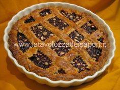 Crostata con Pasta Frolla Integrale e Mandorle http://www.latavolozzadeisapori.it/ricette/crostata-con-pasta-frolla-integrale-e-mandorle