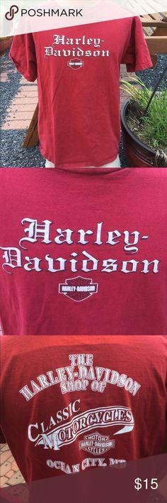 Harley Davidson Mens T Shirt Ocean City Size XL Size Mens XL. Harley-Davidson Shirts Tees - Short Sleeve