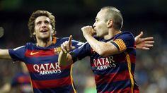 El 0-3 de Iniesta en el Bernabéu   FC Barcelona