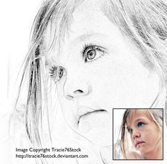 Photoshop Tutorial: This method is quick, easy, and results in quite a nice sketch.