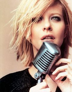 Meg Ryan's choppy bob. I've always loved her hair no matter the style. I think it's the texture.