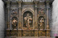 retablo de la trinidad de la catedral de jaca. Juan de Ancheta
