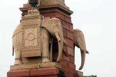 Located Near The Grand New Delhi Hotel, The Rashtrapati Bhavan (pronunciation Delhi Hotel, Edwin Lutyens, Tourist Places, I Want To Travel, New Delhi, Great British, Asia, History, Architecture
