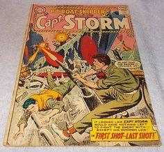 DC Silver Comic PT Boat Skipper Capt Storm 1964 No 2 F/FV.........9.95