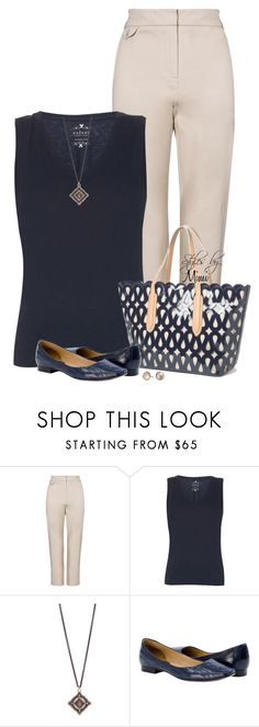 """""""Casual Friday (8.25.17)"""" by stylesbymimi ❤ liked on Polyvore featuring John Lewis, Velvet by Graham & Spencer, Armenta, Sondra Roberts and Alexis Bittar"""