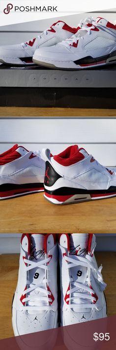 get cheap 149f4 7b7f6 New With Box Men`s Jordan Flight 9 Athletic Shoes 112856304575 - New With  Box Men`s Jordan Flight 9 Athletic Shoes White Black Red Size 18 Nike Shoes  ...
