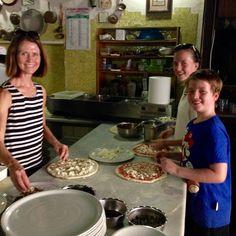 Pizza making.... Learn. Live. Love. Rome