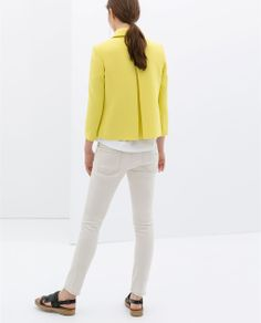 Image 4 of STRUCTURED JACKET from Zara