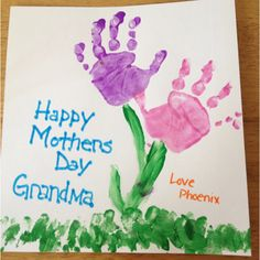 Mothers day card for the grandmas!