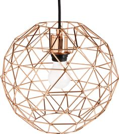 Cage Takpendel i kobber, stor Pendant Lamp, Pendant Lighting, Chandelier, Cage, Ombres Portées, Copper Ceiling, Color Cobre, Deco Luminaire, Urban Chic