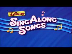 Some remastering by Mr Spectacals. For those who grew up watching Disney on VHS tapes will fondly remember this intro theme from the Sing Along Songs series. Wiggles Birthday, Sing Along Songs, Disney Shorts, Mickey Mouse Club, Disney Plus, Vhs Tapes, Television Program, Disney Family, Theme Song