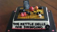 CrossFit Inspired Cake