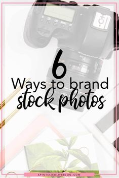 Stock photos can be a life saver, but sometimes they don't 'fit' with your aesthetic. Today I'm sharing 6 ways to brand stock photos.