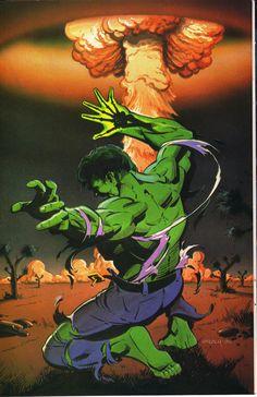 Hulk by Ken Steacy