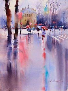 Photo de Viktoria Prischedko Watercolor Art.