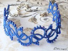 Karkötő 'Blue & Blue'