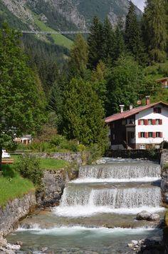 Lechtal - Holzgau Hängebrücke