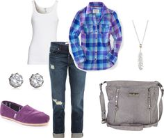 """plaid and pretty"" by meredith723 ❤ liked on Polyvore"